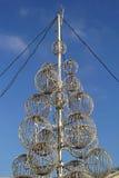 Decor light pole Stock Photography