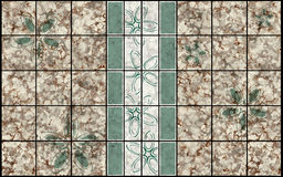 Decor mosaic pattern Royalty Free Stock Photos