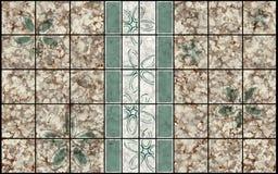 Decor mosaic pattern royalty free stock photos