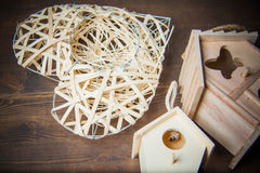 Decor nesting box Stock Photo