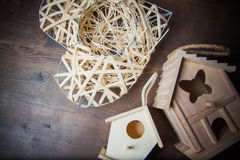 Decor nesting box Stock Photography