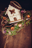 Decor nesting box Stock Image