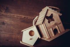 Decor nesting box Stock Photos