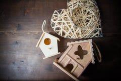 Decor nesting box Royalty Free Stock Images