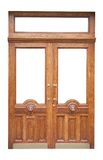 Decor Old Wooden Door Stock Image
