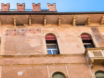Decor of palazzo Negri De Salvi in Vicenza Royalty Free Stock Photos