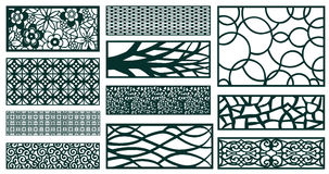 Decor pattern collections Royalty Free Stock Photography