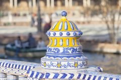Decor`s details in Seville. royalty free stock photos