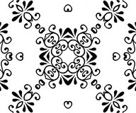 Decor Scroll. Decor Curly Scroll Design Stock Image