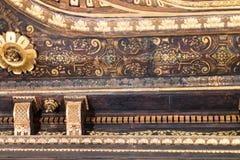 Decor in Scuola di San Giorgio degli Schiavoni Royalty Free Stock Image