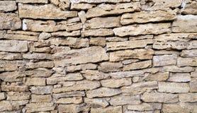 Decor stone wall backround. Detailed grunge texture Stock Image