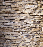 Decor stone wall backround Royalty Free Stock Images