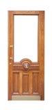 Decor vintage wooden door Stock Image