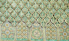 Decoração árabe do ornamento do mosaico fotos de stock royalty free
