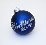 Decoração 2012 do Natal Fotografia de Stock Royalty Free