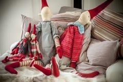 Decoração acolhedor do Natal Foto de Stock Royalty Free