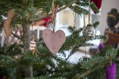 Decoração acolhedor do Natal Fotografia de Stock Royalty Free