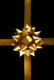 Decoração amarela grande do feriado Imagens de Stock Royalty Free