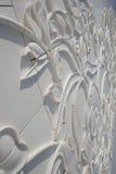 Decoração ascendente fechado em Abu Dhabi Sheikh Zayed Mosque famoso, A Imagem de Stock