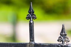 Decoração bonita da cerca Fotografia de Stock Royalty Free