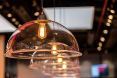 Decoração bonita da iluminação do vintage para interiores de construção fotografia de stock royalty free