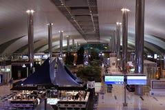 Decoração bonita de Indore do aeroporto internacional de Dubai Fotografia de Stock Royalty Free