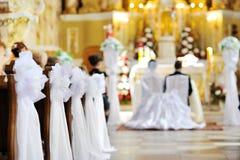 Decoração bonita do casamento da flor Foto de Stock