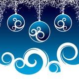 Decoração bonita do Natal ilustração stock