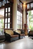 Entrada do hotel Imagem de Stock