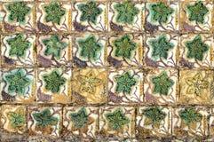 Decoração cerâmica da hera fotografia de stock royalty free