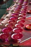 Decoração chinesa da tabela Foto de Stock Royalty Free