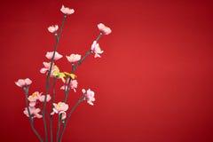 A decoração chinesa de ano novo Fotografia de Stock Royalty Free