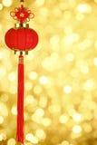 Decoração chinesa do ano novo foto de stock