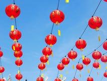 Decoração chinesa do ano novo, lanterna foto de stock