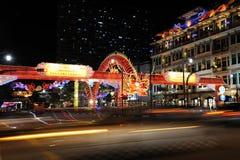 Decoração chinesa do dragão do ano novo Imagens de Stock Royalty Free
