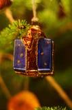 Decoração da árvore de Christmass Foto de Stock