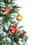 Decoração da árvore de Natal Imagens de Stock Royalty Free