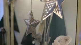 Decoração da árvore de Natal video estoque