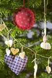Decoração da árvore de Natal fotografia de stock royalty free