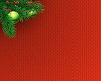 Decoração da árvore de Natal ilustração do vetor