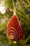 Decoração da árvore de Novo-Ano Fotografia de Stock