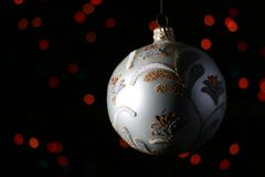 Decoração da árvore de Novo-ano Imagem de Stock