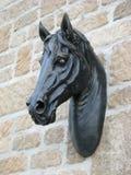Decoração da cabeça de cavalo Imagem de Stock Royalty Free