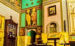 A decoração da catedral de Sioni em Tbilisi Fotos de Stock