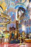 Decoração da catedral da trindade santamente Foto de Stock Royalty Free