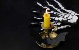 A decoração da composição para Dia das Bruxas Fotos de Stock