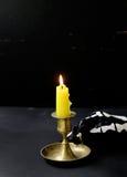 A decoração da composição para Dia das Bruxas Fotografia de Stock Royalty Free