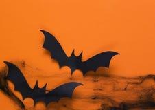 A decoração da composição para Dia das Bruxas Imagem de Stock Royalty Free