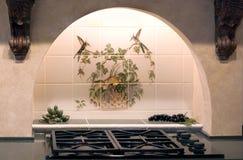 Decoração da cozinha imagem de stock royalty free
