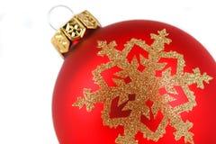 Decoração da esfera do Feliz Natal Fotografia de Stock